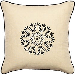 "Decorative Bunbury Down Filled 18"" Throw Pillow"