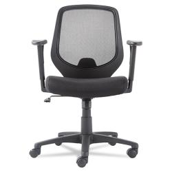 Black Mid-Back Swivel/ Tilt Mesh Chair