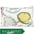 Hosta Lily Alabaster Decorative Pillow