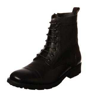 Robert Wayne Men's 'Quarry' Leather Lace-up Boots FINAL SALE