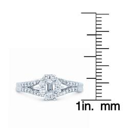 14k White Gold 5/8ct TDW Diamond Ring (G-H, I1)