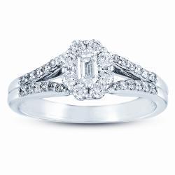 14k White Gold 5/8ct TDW Diamond Ring (G-H, I1)
