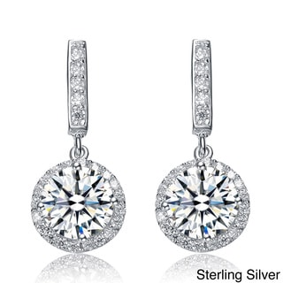 Collette Z Clear Cubic Zirconia Dangle Earrings