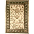 Aloma Antique Sage Ivory Area Rug (7'10 x 9'10)