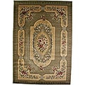 Alish Sage Green Area Rug (5'3 x 7'7)