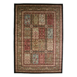 Traditional Panel Eden Multicolor Area Rug (7'10 x 9'10)
