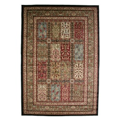 Traditional Panel Eden Multicolor Area Rug (5'3 x 7'7)