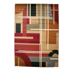 Rendition Multicolor Area Rug (7'10 x 9'10)