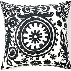 24 x 24-inch Africa Suzani Decorative Down Pillow
