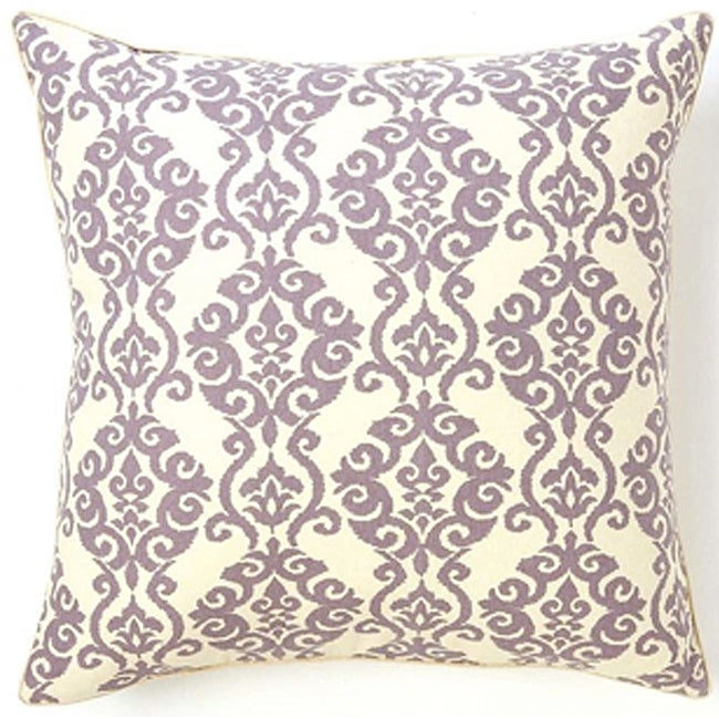 Decorative Pillow Lilac : Luminari Lilac Cotton Decorative Pillow - 14024846 - Overstock.com Shopping - The Best Prices on ...