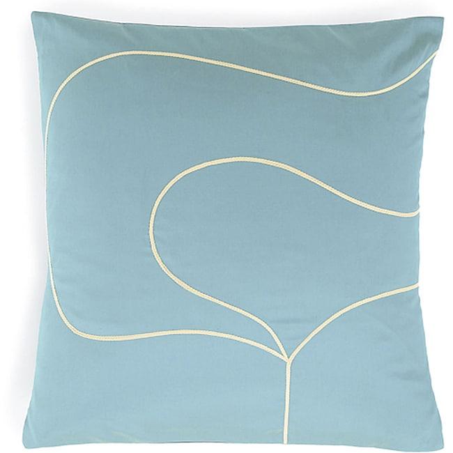 Tulip Aqua Poly Pillow