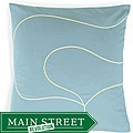 Tulip Aqua Poly Pillow