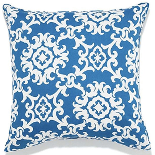 Alvin Blue Outdoor Pillow