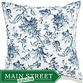 Liz Blue Outdoor Pillow