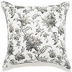 Liz Charcoal Outdoor Pillow