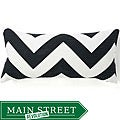 Jiti Pillows Africa Zig-zag Decorative Down Pillow