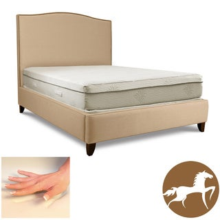Christopher Knight Aloe Gel Memory Foam 11-inch Full-size Smooth Top Mattress