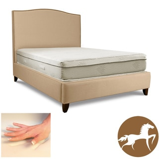 Christopher Knight Aloe Gel Memory Foam 11-inch Queen-size Smooth Top Mattress