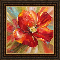 Nan 'Island Blossom I' Framed Print