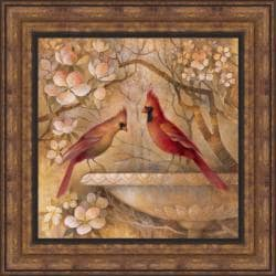 Elaine Vollherbst-Lane 'Elegance in Red II' Framed Print