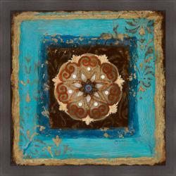 Tava Studios 'Exotic Medallion II' Framed Print