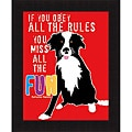 Ginger Oliphant 'Fun' Framed Print