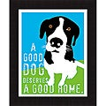 Ginger Oliphant 'A Good Dog' Framed Print