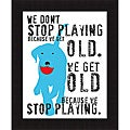Ginger Oliphant 'Don't Stop Playing' Framed Print