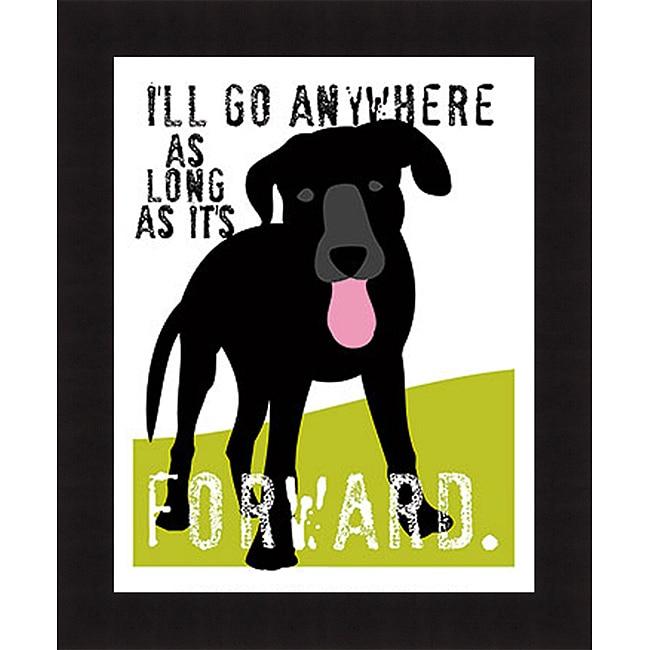 Ginger Oliphant 'I'll Go Anywhere' Framed Print