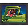 Ron Burns 'I Wanna Go!' Framed Print