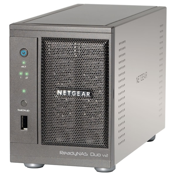 Netgear ReadyNAS Duo RND2110 Network Storage Server