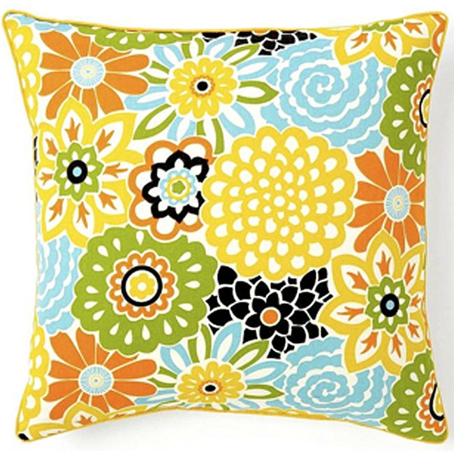 Bloom Confetti Cotton Decorative Pillow