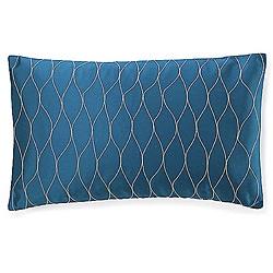 Kelp Blue Poly Decorative Pillow