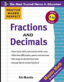 Fractions, Decimals, and Percents (Paperback)