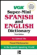 Vox Super-Mini Spanish and English Dictionary (Paperback)