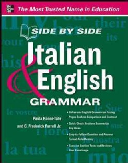Side by Side Italian & English Grammar (Paperback)