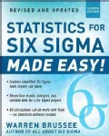Statistics for Six Sigma Made Easy! (Paperback)