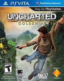 Ps Vita - Uncharted Golden Abyss