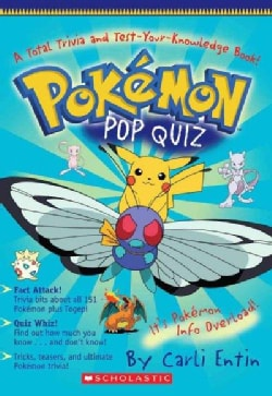 Pokemon Pop Quiz (Paperback)