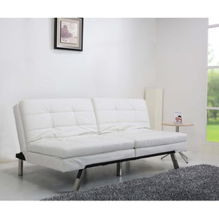 Memphis White Double Cushion Sofa Bed