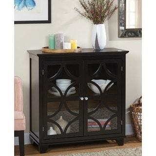 Simple Living Black Sydney Cabinet