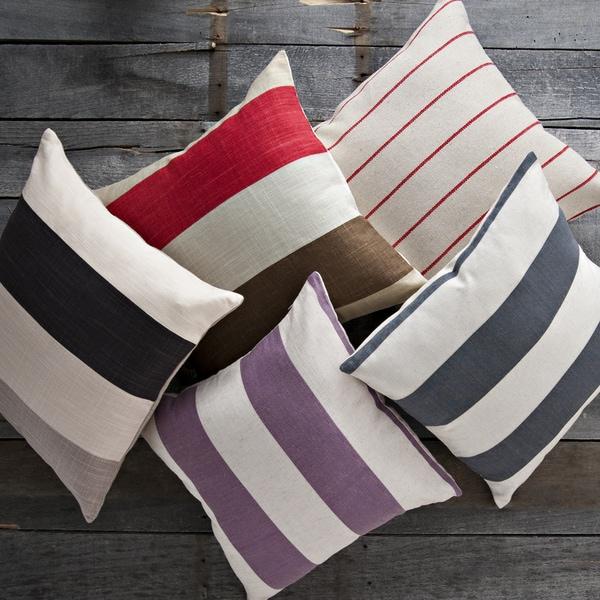 Decorative Stripe Pillow