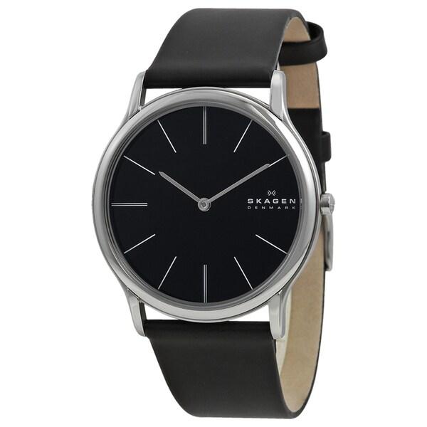 Skagen Denmark Super Slim Black Men's Watch
