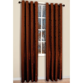 Brick 84-inch Shadows Curtain Panel Pair