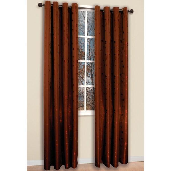 Brick 84-inch Shadows Curtain Panel Pair