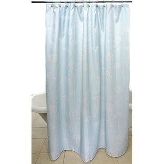 Waverly 'Simplicity Blue' Shower Curtain