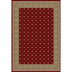 Hudson Terrace Red Area Rug (7'10 x 9'10)