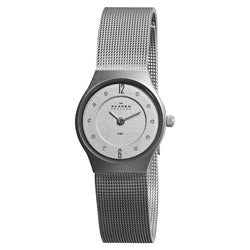 Skagen Denmark Women's Super Slim Matte Silver Watch