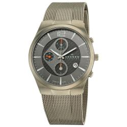 Skagen Men's Titanium Chronograph Watch