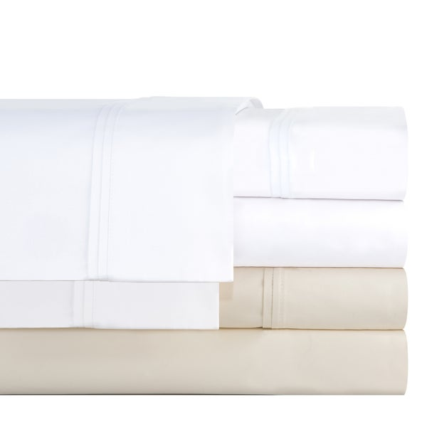Pointehaven Cotton Blend 700 Thread Count Deep Pocket Sheet Set (As Is Item)